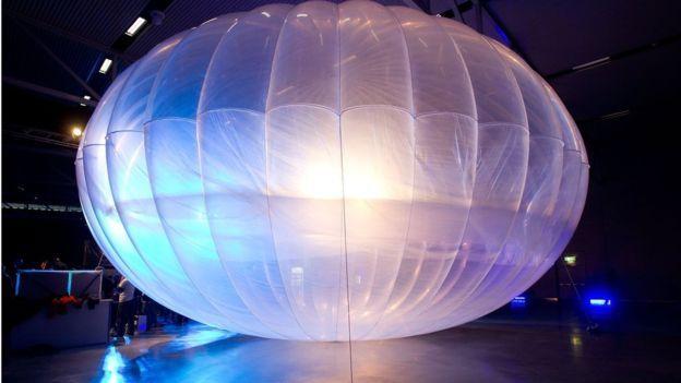 A Project Loon ballon