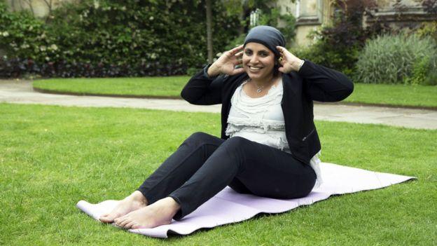 Saleyha Ahsan (en la foto) es una de las presentadoras de