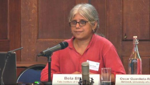 सामाजिक कार्यकर्ता बेला भाटिया