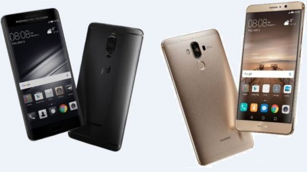 Huawei Mate 9 phones