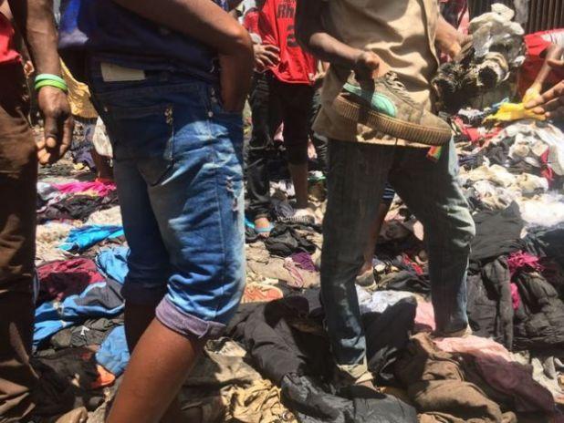 Nairobi market fire