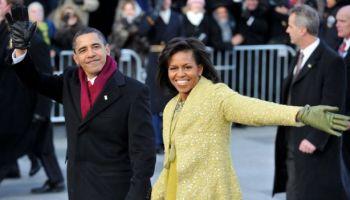 Barack y Michelle Obama, el día de la asunción de la presidencia de EE.UU. en 2009.