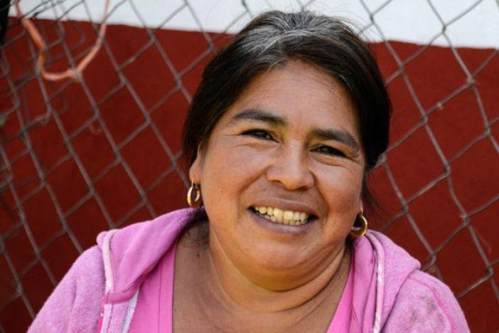 Margarita, habitante de Cherán