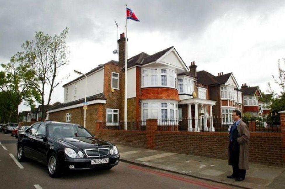 سفارة كوريا الشمالية