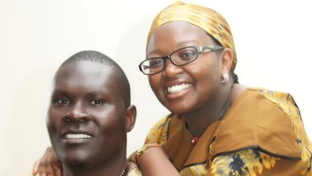 George Obiero and his wife Millicent Wanjiru