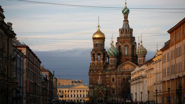 Church of the Saviour on Spilled Blood in St Petersburg
