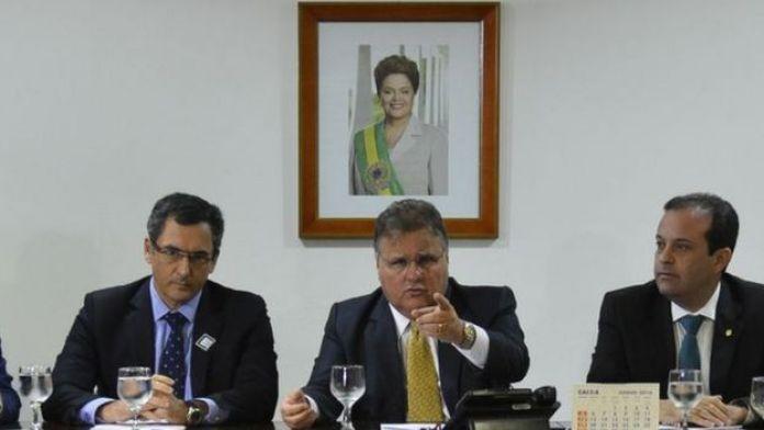 Geddel em julho de 2016, como auxiliar do presidente Michel Temer