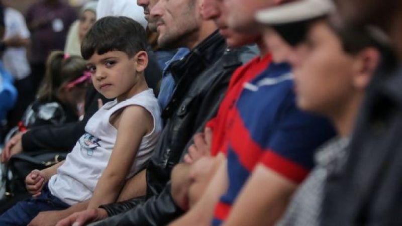Um grupo de imigrantes sírios foi acolhido na Malásia em maio, país asiático que aceitou receber refugiados. Foto AFP/ STR / Malaysia OUTSTR/AFP/Getty