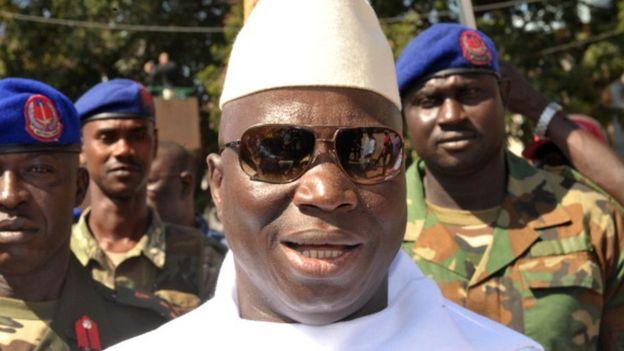 Yahya Jammeh (archive shot)