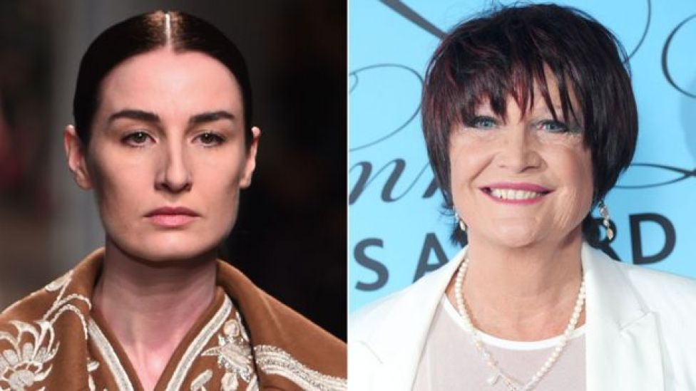 Erin O'Connor and Sandie Shaw