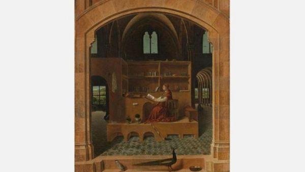 لوحة القديس جيروم