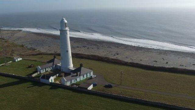 Faro Nash Point en south Wales