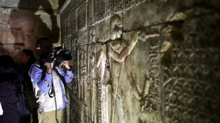 أرشيف- مقبرة أثرية للفراعنة