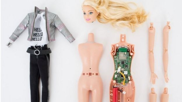 Hello Barbie parts