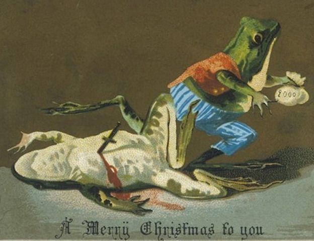 Image result for pictures of victorians at christmas