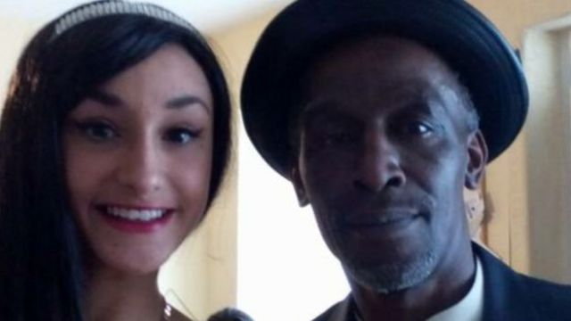 Whitfield Francis with his eldest daughter