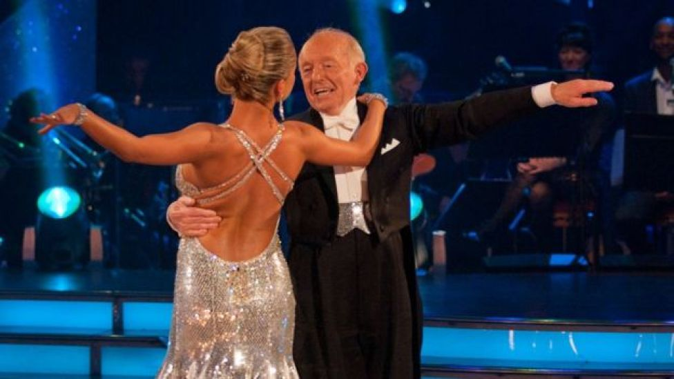 Paul Daniels and Ola Jordan on Strictly Come Dancing