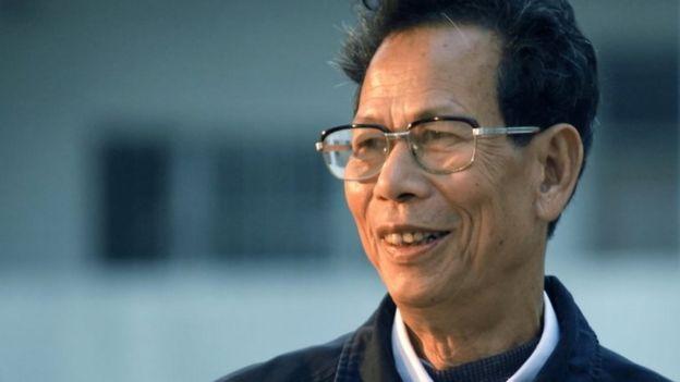 Wukan village chief Lin Zuluan (file image)