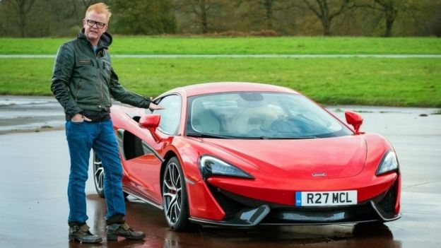Chris Evans and the McLaren 570S