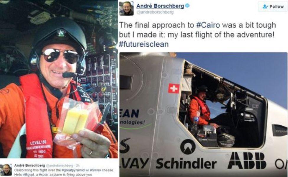Tweets from Andre Borschberg