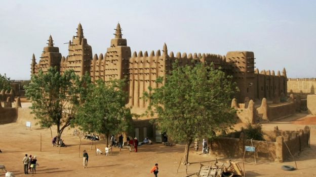 Great Mosque Of Djenne Mali
