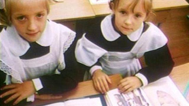 Niñas en una escuela en Moscú