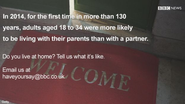 For the first time in more than 130 years, adults aged 18 to 34 are more likely to live in their parents' home than with a partner.