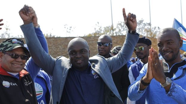Solly Msimanga won elections in August