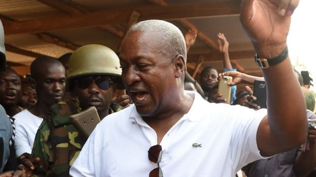 mahama votes