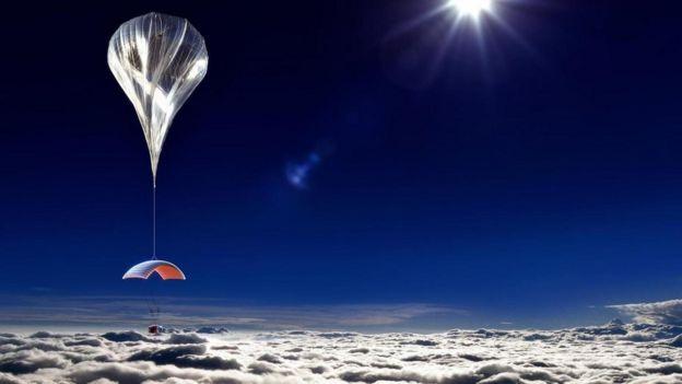 منطاد فضائي