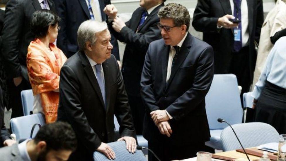 آمریکا و همپیماناناش خواستار واکنش سریعتر به حمله دوما هستند؛ دبیرکل سازمان ملل درباره افزایش تنشها هشدار داده است.