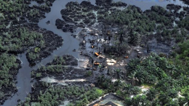 Pollution in Niger Delta