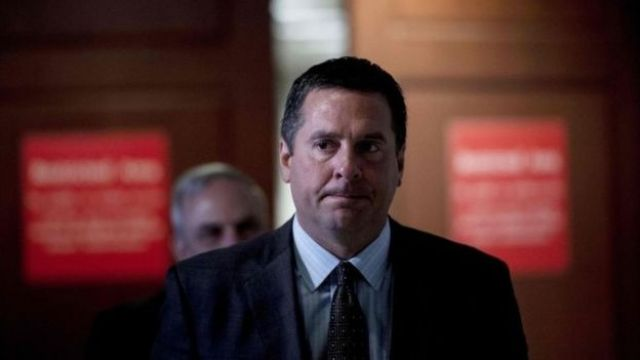Republican Devin Nunes pictured in July 2017