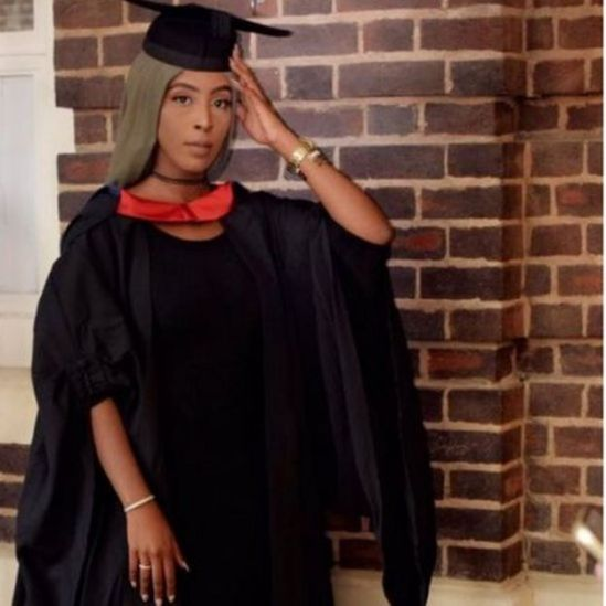 Image of Ramla Tyrow at her graduation