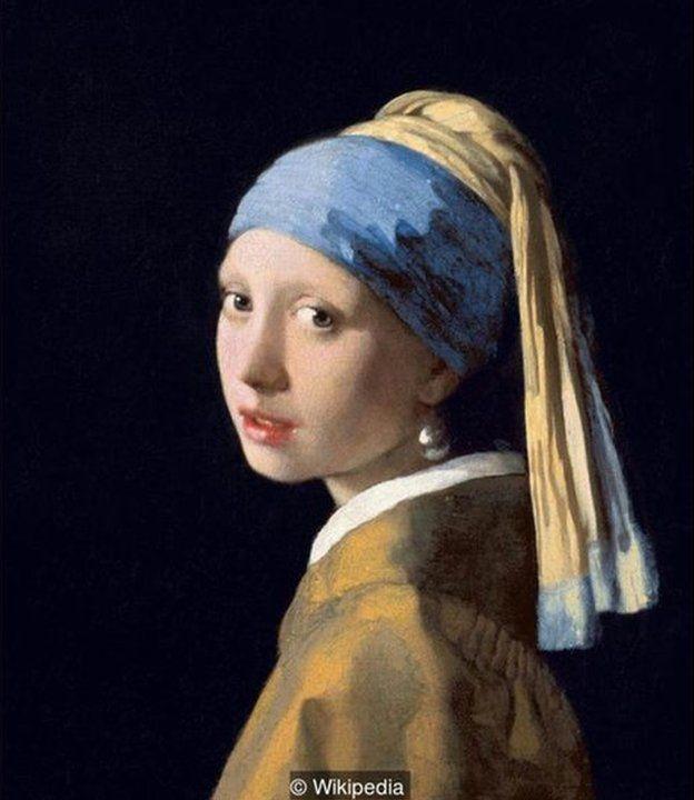 Johannes Vermeer, İnci Küpeli Kız