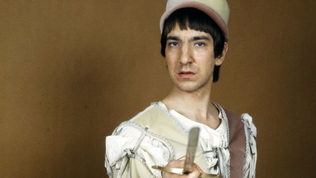 Alan Rickman in 1978's Romeo & Juliet