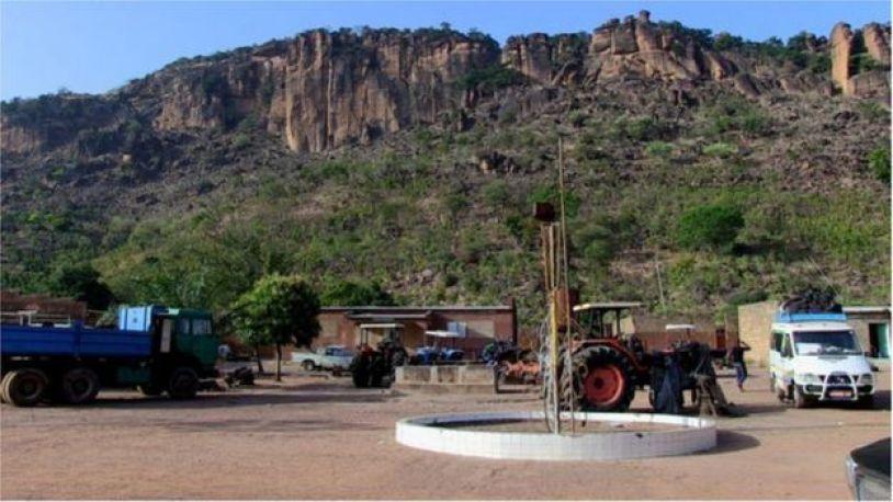 La maison de Sissoko Foutanga dit Babani, près des frontières du Mali avec le Sénégal et la Guinée.