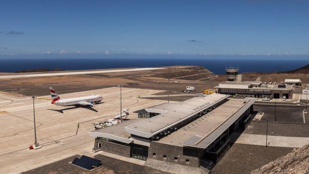 aeropuertos de St Helena