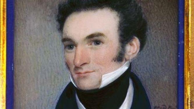 Portrait of James Busby
