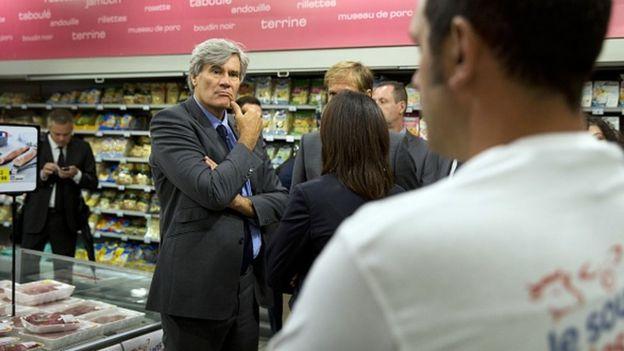 Ministro de Agricultura de Francia, Stephane Le Foll