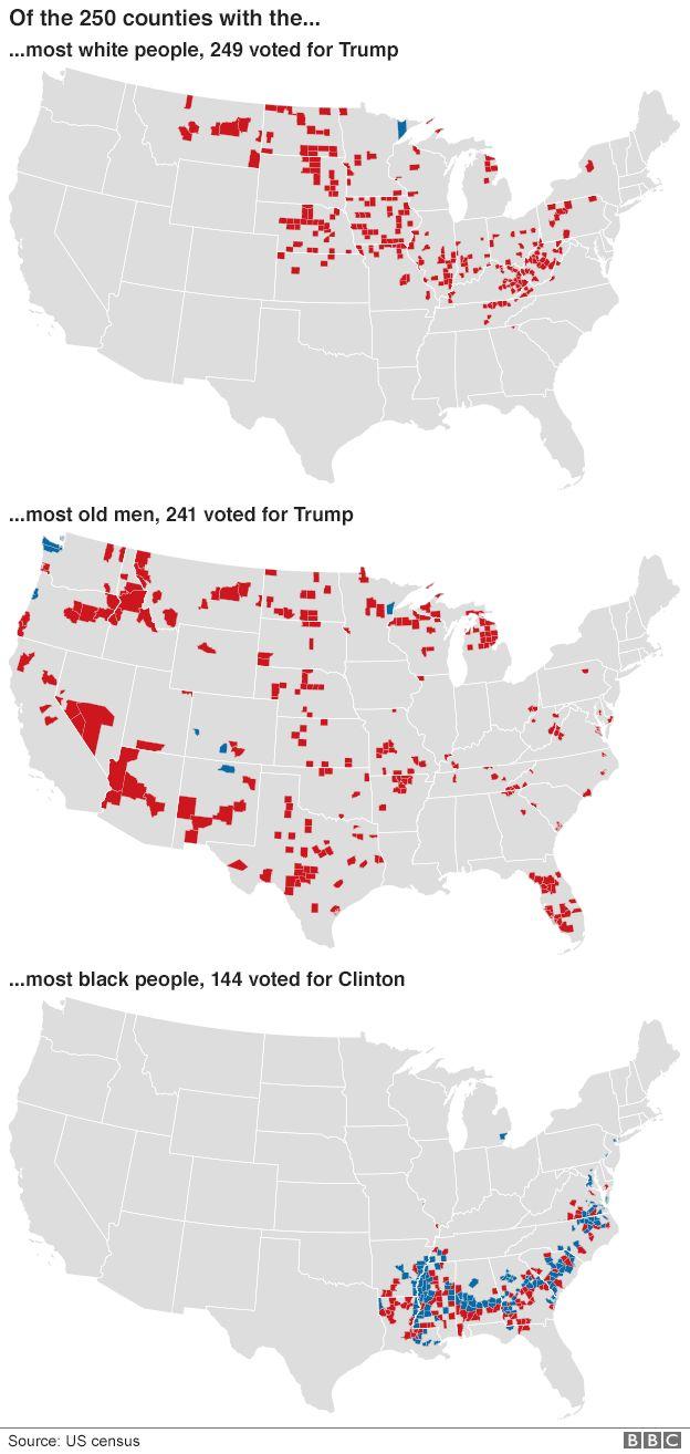 Demographics maps
