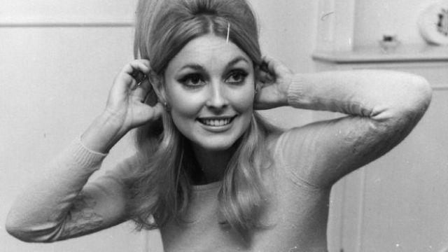 A atriz Sharon Tate