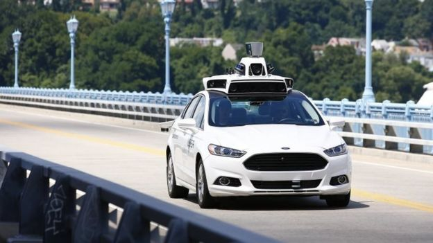 Self-drive Uber