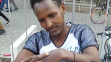 Harun Ahmed en Alemania.