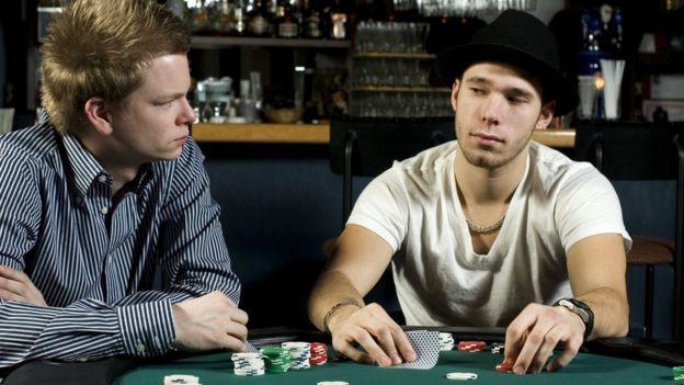 Jugadores de póker