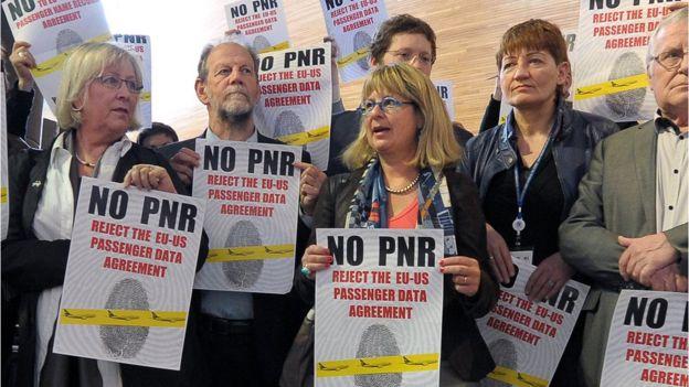 Protestas contra el acuerdo PNR de 2012