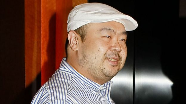 In a picture taken on 4 June 2010 Kim Jong-Nam, the eldest son of North Korean leader Kim Jong-Il, stands during an interview with South Korean media representatives in Macau.