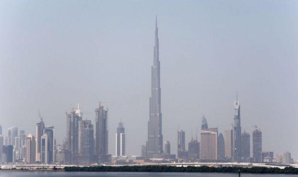 A view of Dubai skyline