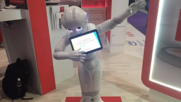 Pepper at BETT