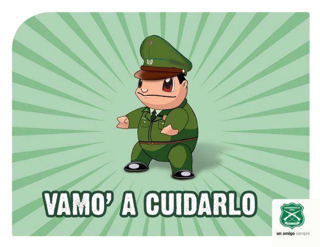 Campaña Pokémo de los carabineros de Chile